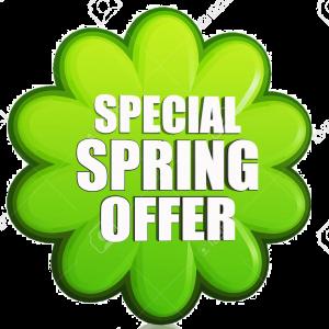 Special Spring Offer